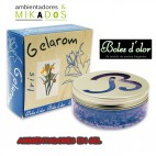 Ambientador Gel GELAROM,  IRIS , Boles d`olor