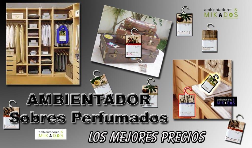 Ambientador en sobres perfumados ambientadores y mikados tu blog de ambientadores - Los mejores ambientadores ...