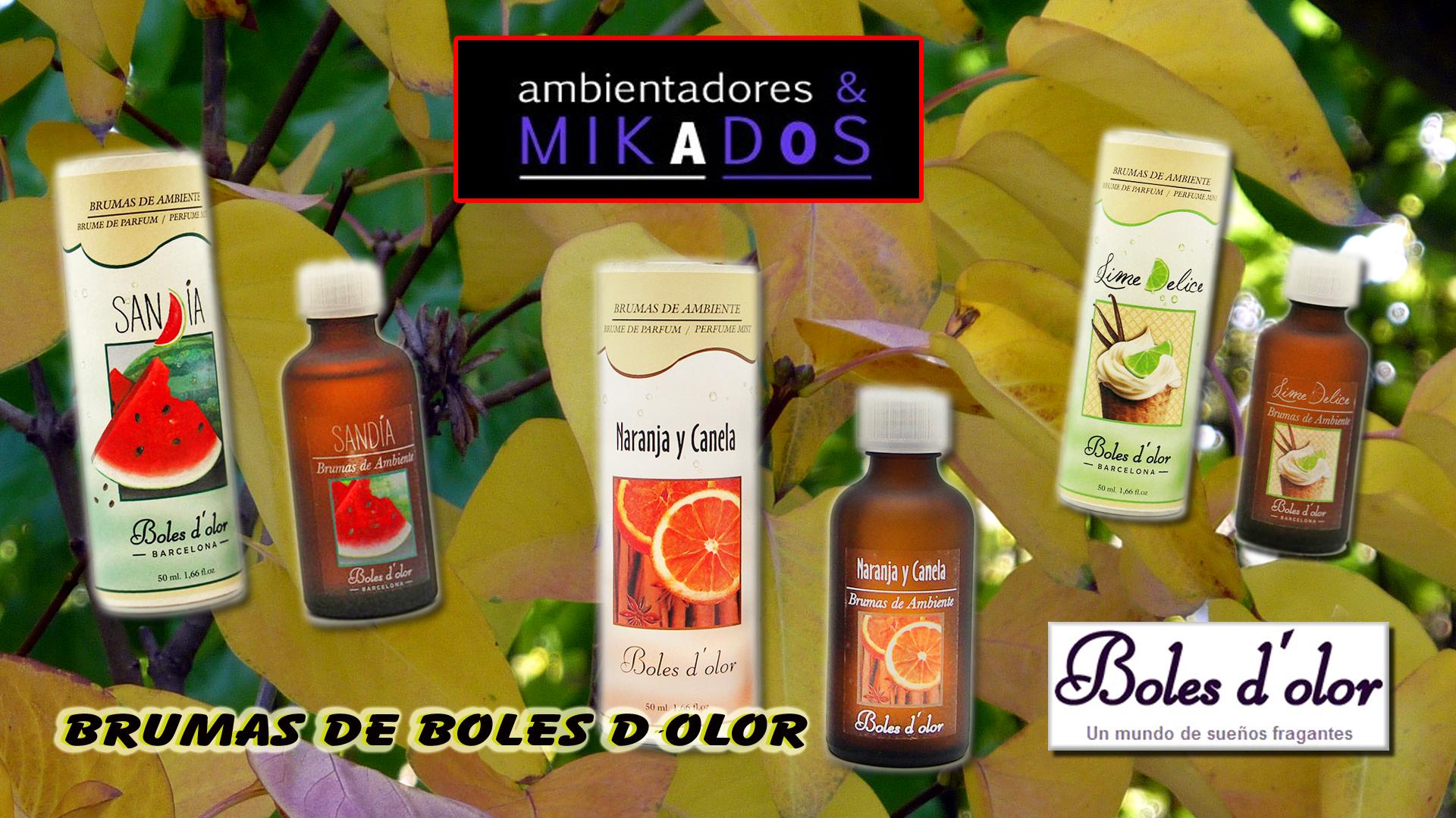 Brumas de boles d olor - Los mejores ambientadores ...