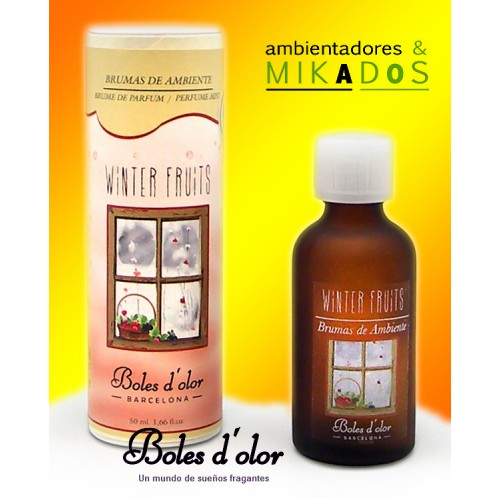 Ambientador Brumas WINTER-FRUITS , Boles d`olor