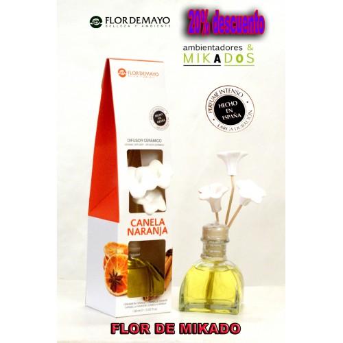 Ambientador FLOR DE MIKADO, CANELA NARANJA