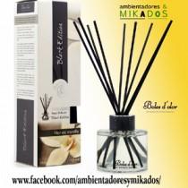 Mikado Black Edition, FLOR DE VAINILLA , Boles d`olor.
