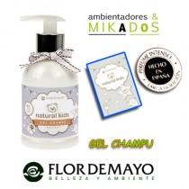 GEL DE BAÑO para bebe, NATURAL KIDS, Flor de Mayo