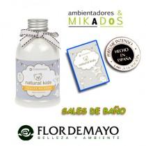 SALES DE BAÑO para bebe, NATURAL KIDS, Flor de Mayo