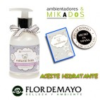 ACEITE HIDRATANTE para bebe, NATURAL KIDS, Flor de Mayo