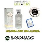 COLONIA INFANTIL para bebe, NATURAL KIDS, Flor de Mayo