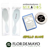 CEPILLO SUAVE para bebe, NATURAL KIDS, Flor de Mayo