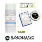 POLVOS DE TALCO para bebe, NATURAL KIDS, Flor de Mayo