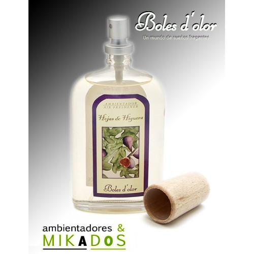 Ambientador  Spray, HOJAS DE HIGUERA, Boles d`olor.