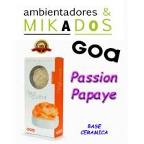 FLOR DE MIKADO GOA, PASSION PAPAYE, BASE CERAMICA