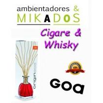 MIKADO ORIGIN GOA , CIGARE & WHISKY