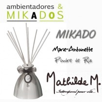 MIKADO MARIE-ANTOINETTE  BLANCO -  PUDRE DE RIZ - Mathilde M
