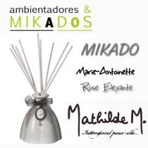 MIKADO MARIE-ANTOINETTE  BLANCO -  ROSE ÉLÉGANTE- Mathilde M