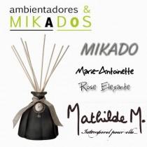 MIKADO MARIE-ANTOINETTE  NEGRO -  ROSE ÉLÉGANTE- Mathilde M