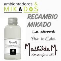RECAMBIO MIKADO -  FLEUR DE COTON - Mathilde M