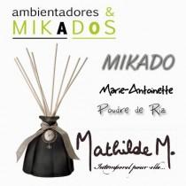 MIKADO MARIE-ANTOINETTE  NEGRO-  PUDRE DE RIZ - Mathilde M