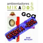 FLOR DE MIKADO GOA , MIEL VANILLE , BASE METALICA