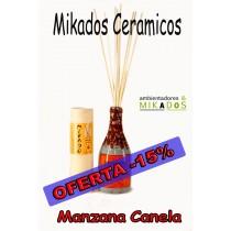 MIKADO CERAMICO MANZANA CANELA